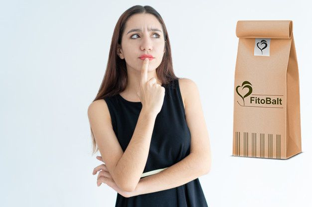 жена замислена Fitobalt чай