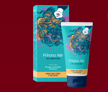 снимка на princess hair mask