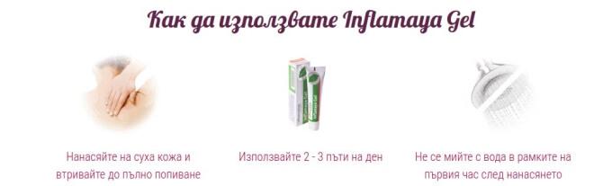 inflamaya gel употреба