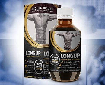 LongUp bottle and pack