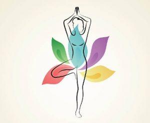 йога поза цвете
