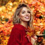 красива коса през есента