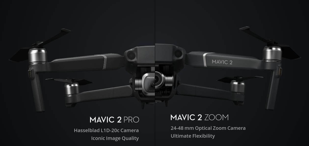 Mavic 2 Pro и Mavic 2 Zoom