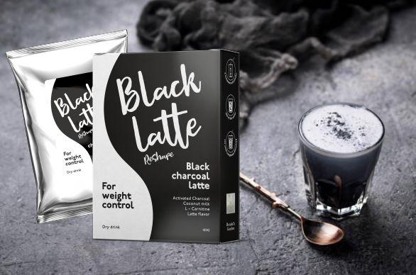 Black Latte и чаша с активен въглен