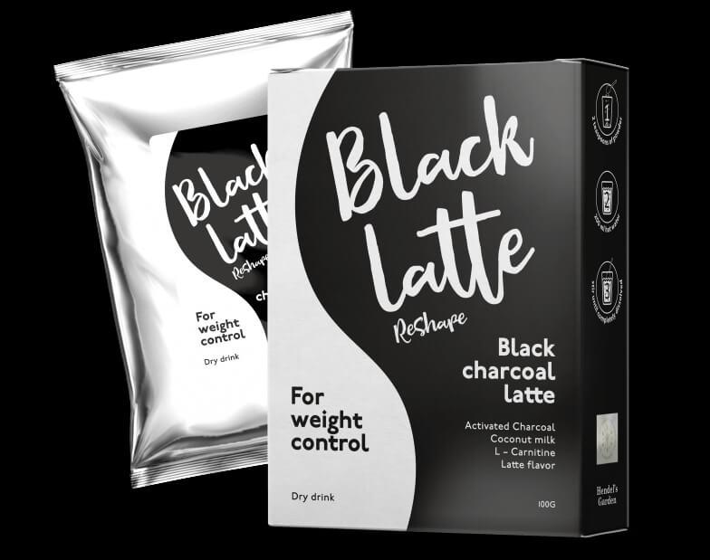 Black Latte опаковка