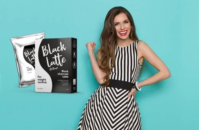 черно кафе капучино и доволно момиче