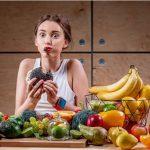 как да отслабна, момиче с плодове