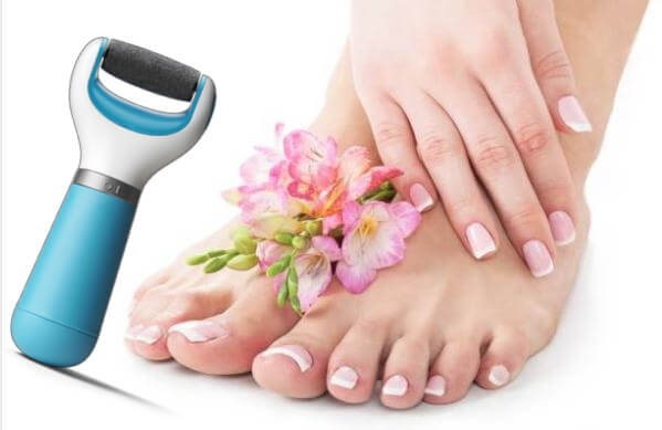 Electric Foot File, нежни дамски стъпала