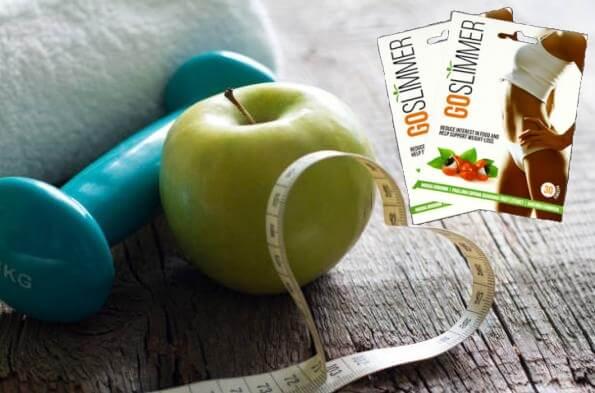 GoSlimmer пластири, гиричка, ябълка и сантиметър