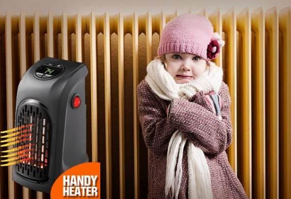 момиче, радиатор, Handy Heater
