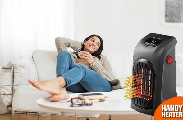 Handy Heater, момиче на диван