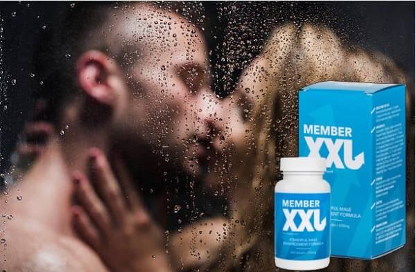 Member XXL, мъж и жена под душ