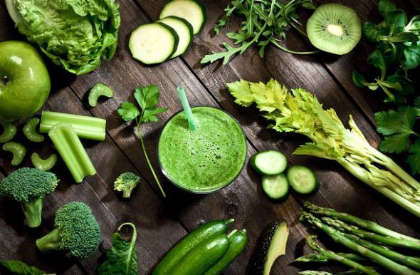 зеленчуци, смути