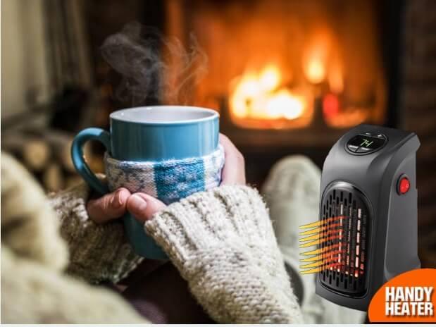 Handy Heater, камина, чаша чай