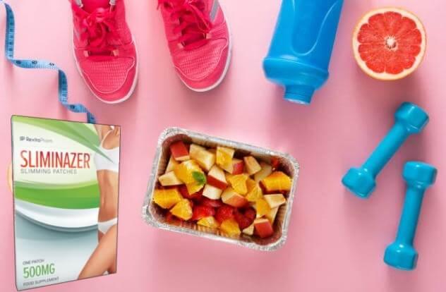 Sliminazer опаковка, маратонки, плодове, гирички