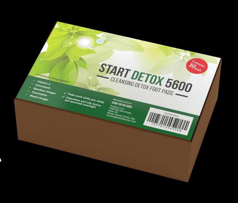 Start Detox 5600 пластири