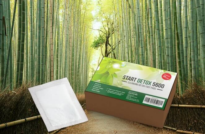 Start Detox 5600 пластири, бамбук