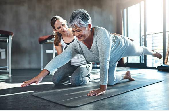 две жеи, упражнения за гръбнак