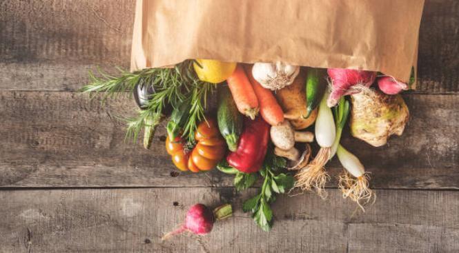 торба със зеленчуци