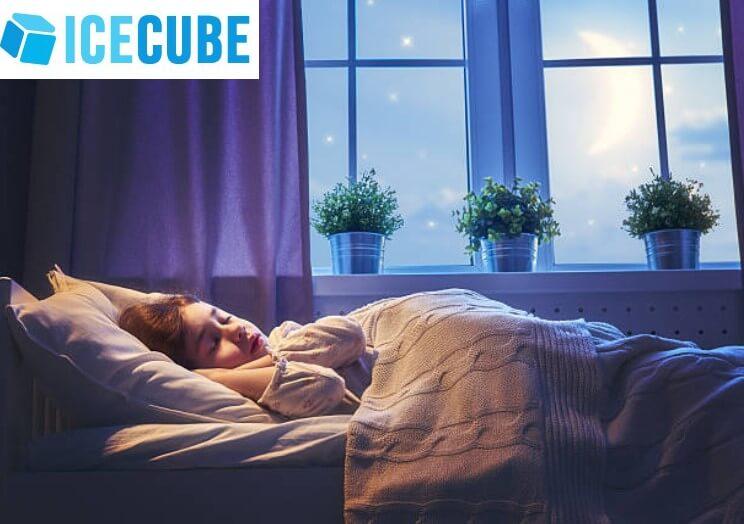 Ice Cube, спящо дете