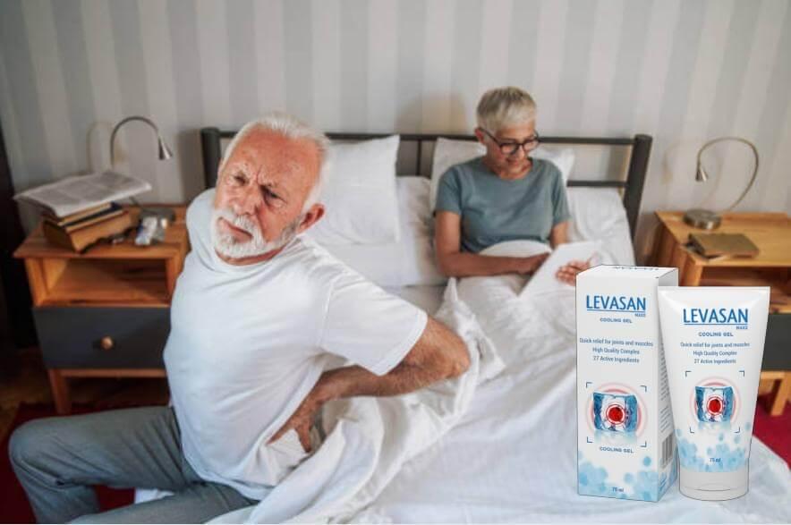 Levasan Maxx, възрастна двойка в легло