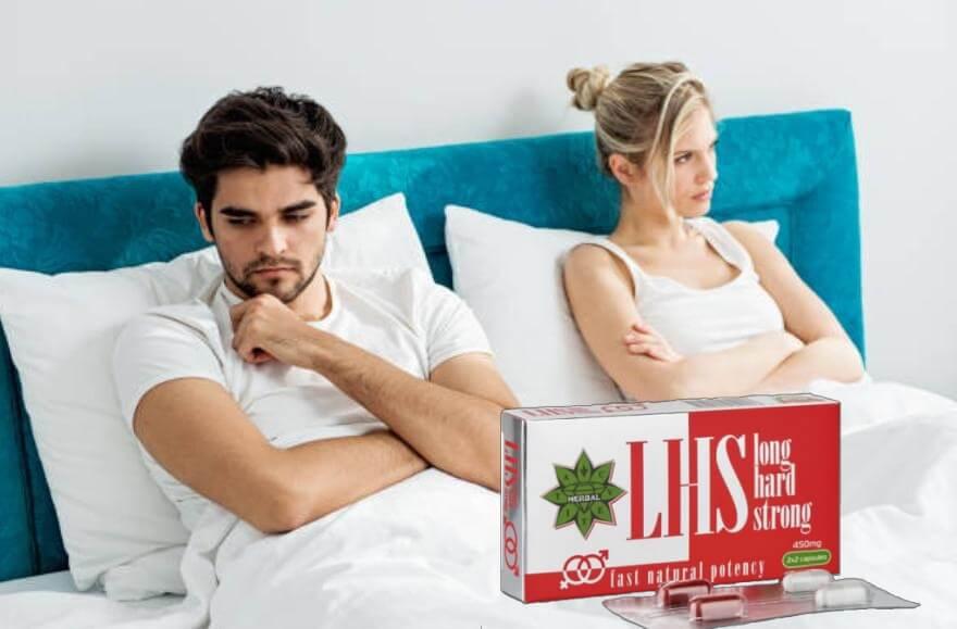 LHS Long Hard Strong таблетки, тъжна двойка в легло