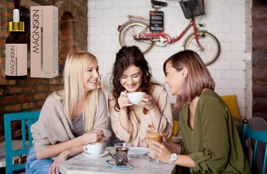Magniskin, приятелки на кафе
