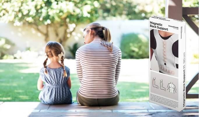 Магнитен Коректор Armor InnovaGoods, майка и дете на верандата