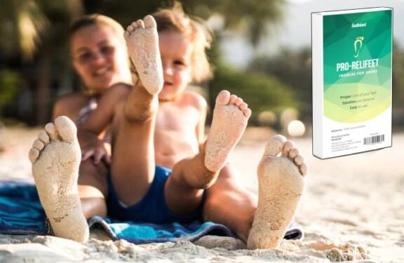 Pro-Relifeet, мама и дете на плажа