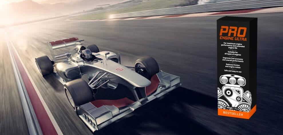 ProEngine Ultra, състезателна кола на писта