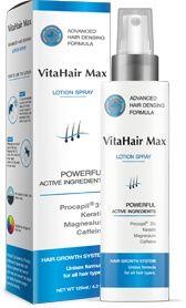 VitaHair Max спрей опаковка