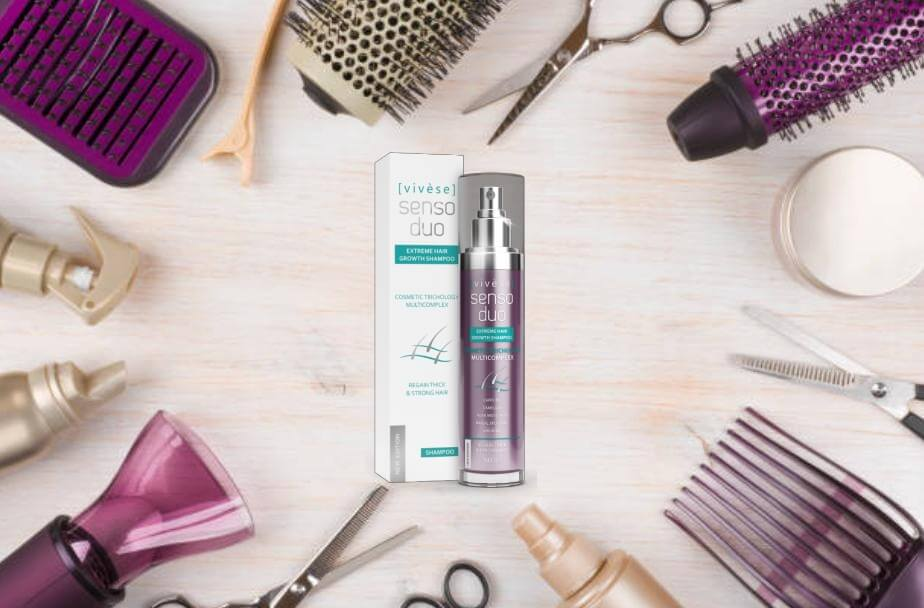 Vivese Senso Duo Shampoo, козметични принадлежности