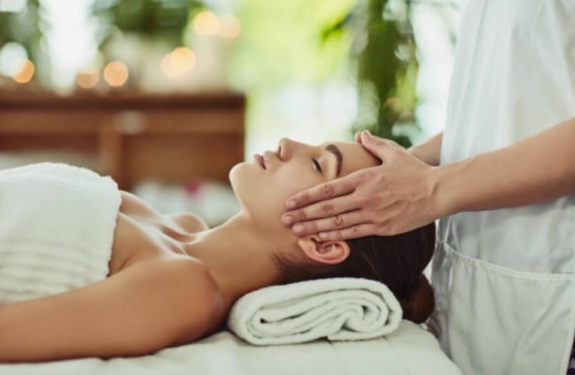 масаж на глава