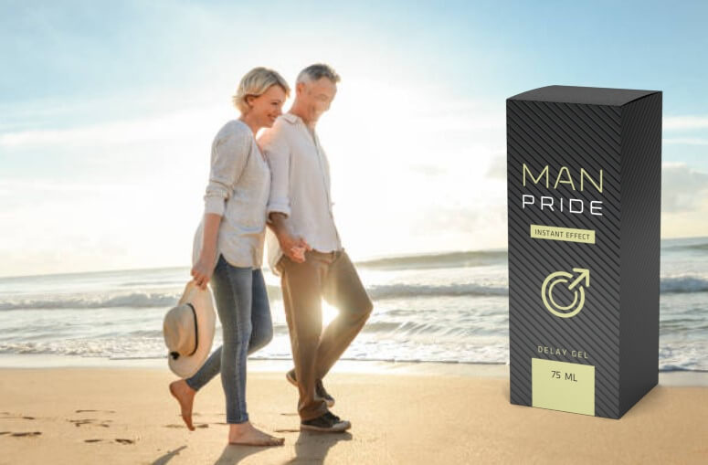 Man Pride, мъж и жена на плаж