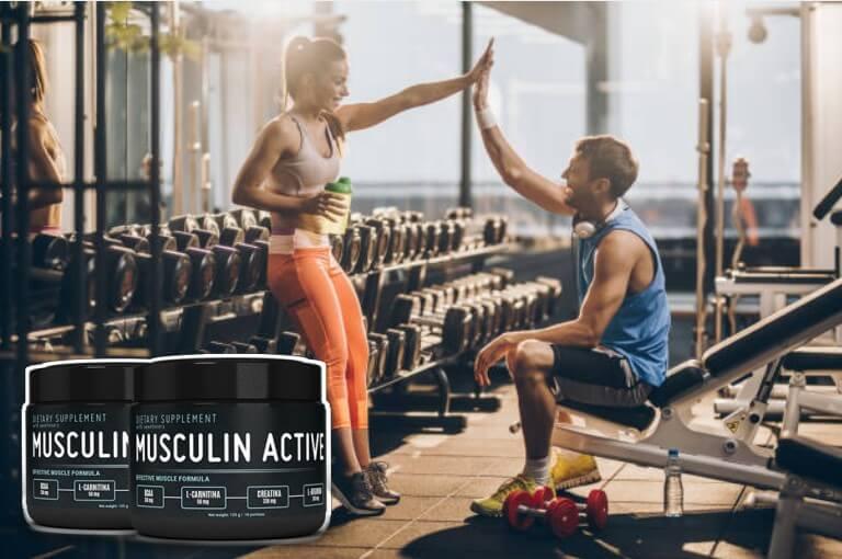Musculin Active, доволни трениращи