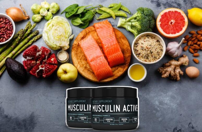 Musculin Active, храна за мускули