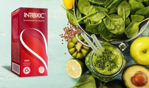 Intoxic, детоксикация, зеленолистни плодове и зеленчуци
