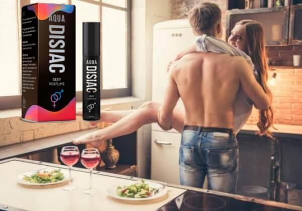 Aqua Disiac, мъж и жена в кухня