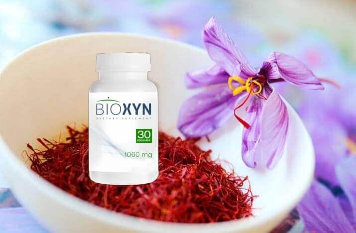 таблетки Bioxyn, шафран