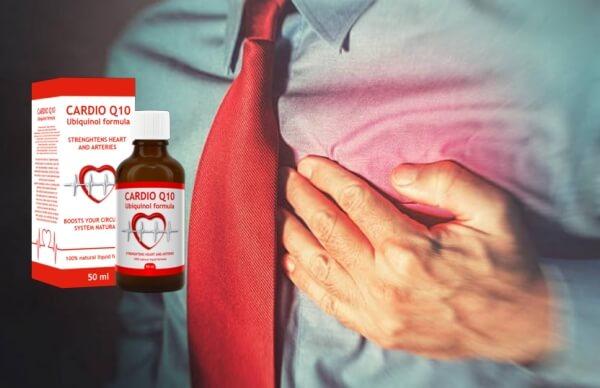 Cardio Q10, мъж с болки в сърцето