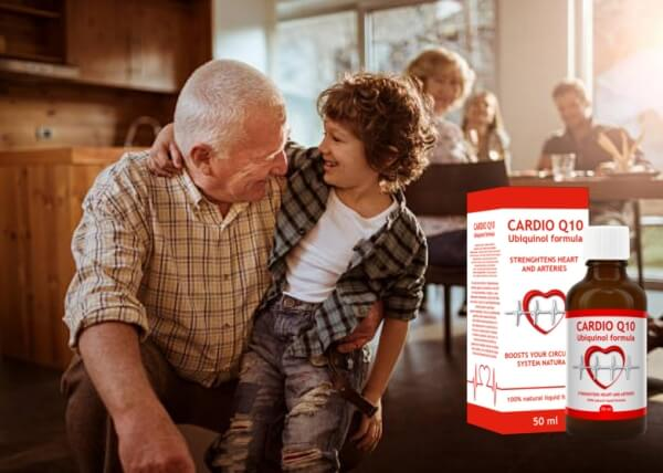 Cardio Q10, дядо и внуче