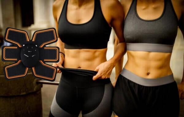 EMS Trainer, жени с коремни плочки