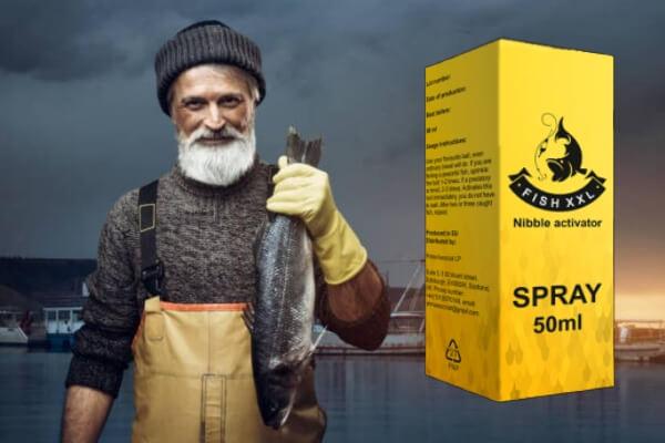 Активатор за Риба Fish XXL, мъж с улов