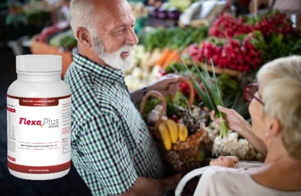 Flexa Plus Optima, мъж и жена на пазар
