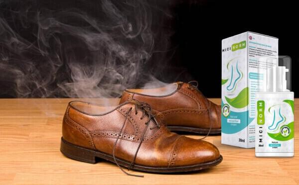Micinorm, мъжки обувки с лош мирис