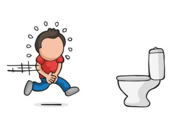 тоалетна и момче