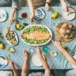 суперхрани за здраво сърце, маса, приятели