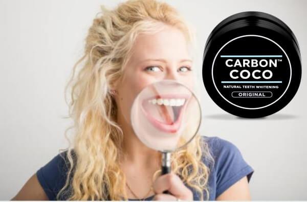 Carbon Coco, усмихната жена и лупа