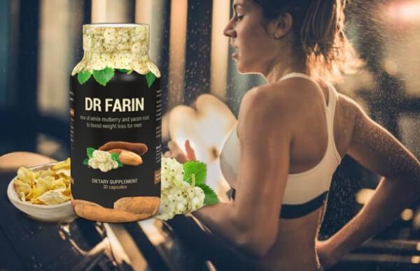Dr Farin, момиче тренира на пътека