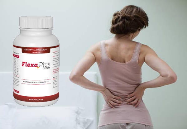 Flexa Plus Optima, жена с болки в кръста